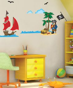 Make home decorating dreams come true with the simplicity of this wall art set. Removable and repositionable, these decals won't do any damage to walls.Create design magic with this clever and stylish innovation.