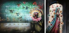 graffiti artist, Sam Flores. colors. baboon.