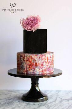 Black & Colored Cake