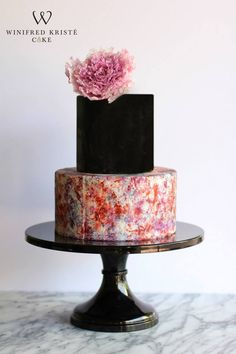 Black & Colored Cake