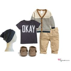 """""""Little Boy's Outfit"""" by lysserrrr on Polyvore"""