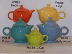 Fiesta® Teapot Comparison