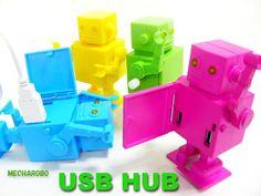 Cute Robot USB Hub