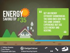 Energy Saving Tip 35 | 150+ Sustainability Resources | #WED2015 #7BillionDreams #Sustainability