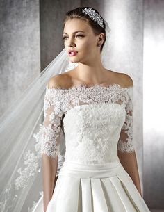 ZORINA, Wedding Dress #rosaygris