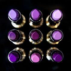 Purple Love, All Things Purple, Shades Of Purple, Deep Purple, Purple Stuff, Lila Make-up, Lila Gold, Purple Makeup, Purple Lipstick