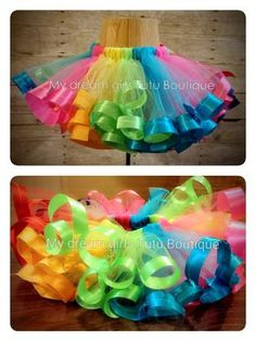 Candy Land Party tutu by MyDreamGirlsTutus on Etsy