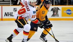 Gameday: Calgary Flames at Nashville Predators, 4/23/13