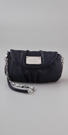 Marc by Marc Jacobs Classic Q Karlie, Black & Silver Hardware