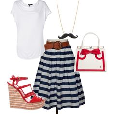 """""""Nautical Inspired"""" by alisonswlee on Polyvore"""