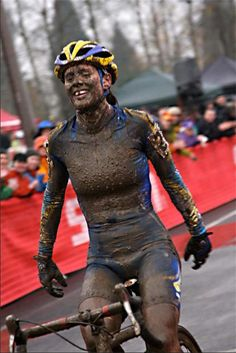 Cyclocross MUD smile.