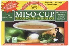 Miso-Cup Original Golden Vegetable Soup, 4-Count Boxes (Pack of 12) *** Additional info  at this Easy Dinner Meals board