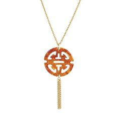 Tortoise Marissa Necklace - Towne & Reese   Find it at www.kellykottage.com Like us on FB!