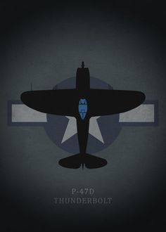 Displate Poster P-47D Thunderbolt p47d #thunderbolt #weapon #war #fighter #combat #plane #airplane #usaf #air #force Ww2 Aircraft, Fighter Aircraft, Military Aircraft, Air Fighter, Fighter Jets, Lockheed P 38 Lightning, P 47 Thunderbolt, Airplane Art, Army Vehicles