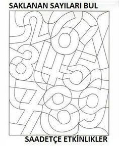 Kinder lernen spielend - ABC und 123 - Zahlen - Ausmalen und Lernen - Freebie *** Fun Kids Learning - Free Printable Learning and drawing the Numbers Numbers Preschool, Preschool Worksheets, Kindergarten Activities, Preschool Activities, Montessori Activities, Learning Activities, Toddler Learning, Teaching Kids, Math For Kids