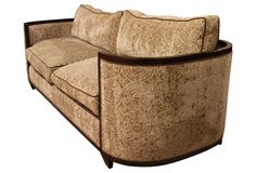 One Kings Lane - Moderne & Art Deco - Art Deco Sofa