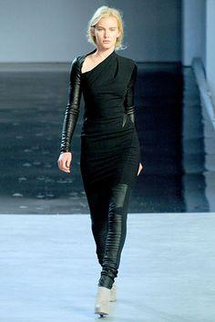 Helmut Lang Fall 2012 RTW - Umm, this looks...futuristic?