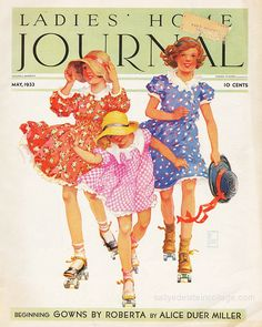 Vintage Ladies Home Journal 1933