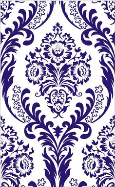 Stencils DAMASK Large WallPaper Stencil 17 by SuperiorStencils, $32.95