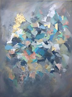 abstract painting by artist Blaire Wheeler