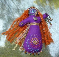 Sun Healing Art Doll Chakra Doll Spirit Doll by BRIDGITSBELL