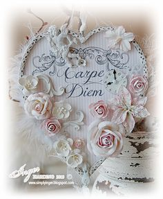 Inger Harding: Carpe Diem . .comes with supply list and sellers names
