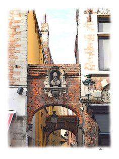 'Erbauliches in Brügge, Belgien – 11/15' von Dirk h. Wendt bei artflakes.com als Poster oder Kunstdruck $18.03