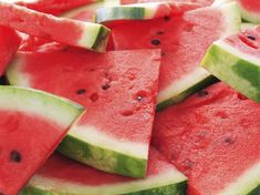 * Watermelon has the highest concentrations of lycopene of any fresh fruit or vegetable. Lycopene is a powerful antioxidant that helps fight heart disease and several types of cancer — prostate cancer in particular. * Watermelon is a great source of Watermelon Benefits, Watermelon Salsa, Sweet Watermelon, Watermelon Slices, Eating Watermelon, Watermelon Festival, Watermelon Patch, Watermelon Recipes, Drunken Watermelon
