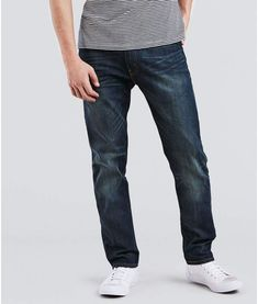 Levi's Men's 502 Regular Tapered Jeans, Size: 42 X Blue Slim Fit Pants, Jeans Fit, Big & Tall Jeans, Perfect Jeans, Tapered Jeans, Mens Big And Tall, S Man, Baby Clothes Shops, Trendy Plus Size