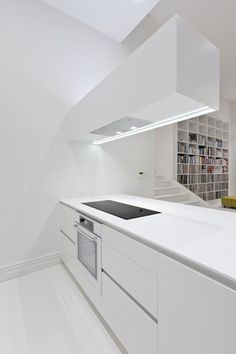 kitchen ventilator modern handles 162 best images cabinet knobs door handle this highly minimalist design by cronin kitchens hides the ventilation unit in a cantilevered extrusion