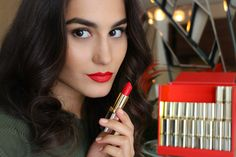 They celebrate Color Riche's 30 anniversary and the Loreal Paris, Your Lips, My Beauty, Red Lips, Best Makeup Products, Lipstick, Fantasy, Celebrities, Color