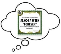 Publishers Clearing House Win $5000 A Week Forever Sweepstakes - Bullock's Buzz