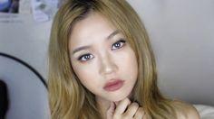 Innocent Glam Tutorial // 인생템 메이크업 Asian Eye Makeup, Asian Eyes, Wavy Hair, Make Up, Feminine, Cute, Pink, Fashion, Women's