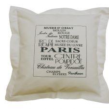 Poduszka dekoracyjna  PARIS Poduszka dekoracyjna  PARIS