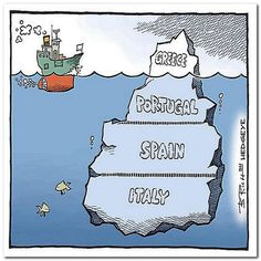 Greece is just the tip of the ice berg!