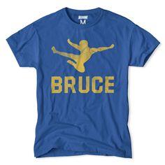 Bruce Lee Flying Kick T-Shirt