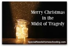 Merry Christmas cheer should be echoing through the decked halls right now! However I keep hearing the stories of friends that bring me to tears. Not just hard luck but terrible tragedies. A blogging friend that I just met IRL husband was shot in the back and almost killed. He is paralyzed from the hip …