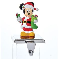 Mickey Mouse Christmas Stocking Holder