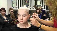 After measuring and making a bald cap, our Tutor Emma Ferguson demonstrates to the class how to apply it. Bald Cap, Theatre Makeup, Special Effects Makeup, How To Apply, Cosplay, Tips, Youtube, Costumes