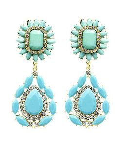 Preppy Drop Earrings