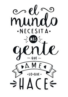 lettering hand lettering calligraphy brush lettering tutorial art drawing handlettering леттеринг за 5 минут how to marker Spanish Inspirational Quotes, Spanish Quotes, Spanish Memes, Positive Phrases, Motivational Phrases, The Words, Teachers' Day, Sentences, Life Quotes