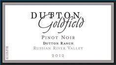 2012 Dutton Ranch Russian River Valley Pinot Noir 750 ml