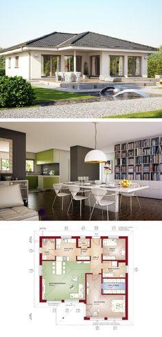 Bungalow Haus Evolution 100 V3   Bien Zenker Fertighaus   HausbauDirekt.de