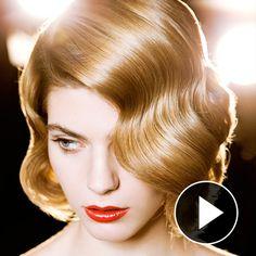 Apuesta por un look 'vintage' con este favorecedor peinado a base de ondas. Vanesa M. Suárez, de ArtLab, te enseña a hacerlo.