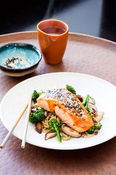 The key to a simple, healthy and flavoursome meal, Regal Salmon has a wealth of different fresh and smoked salmon recipes to suit any occasion, taste, or level of cooking expertise. Salmon Recipes, Noodles, Dressing, Healthy Recipes, Ethnic Recipes, Food, Macaroni, Essen, Healthy Eating Recipes