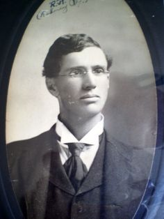 Great grandfather Rodney Horace Yale, who wrote Yales and Whales book in 1908