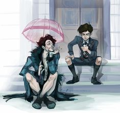 Neat artwork of a show called Umbrella Academy apparently, I haven't watched it but I like this artwork. Neat artwork of a show called Umbrella Academy apparently, I haven't watched it but I like this artwork. Robert Sheehan, Under My Umbrella, Umbrella Art, Fandoms, Fan Art, Film Serie, App, My Chemical Romance, Luther
