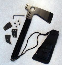 Survival Axe Unassembled