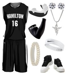 """""""Hamilton Basketball"""" by blvcksymba on Polyvore featuring Marc by Marc Jacobs, men's fashion and menswear"""