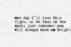The Light Behind Your Eyes- My Chemical Romance